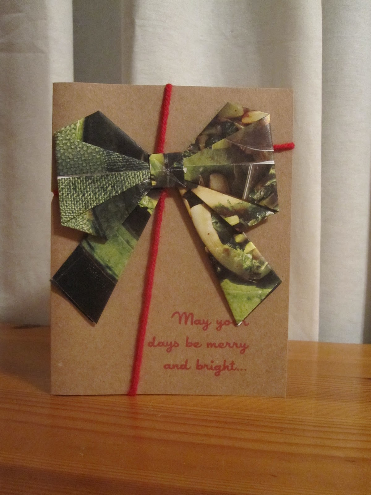 Mess of the Day: Origami Christmas Cards - photo#44