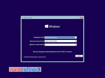 cara install windows 10 mudah praktis
