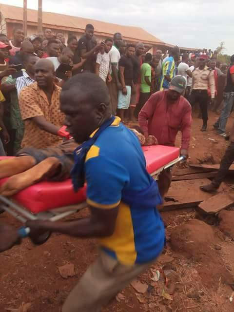 Very graphic: Accident claims lives of 5 students in Benue State