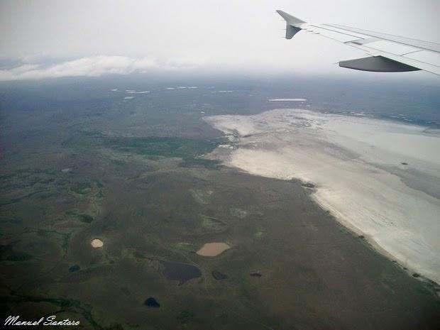 In volo verso la Patagonia cilena