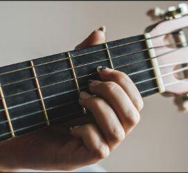 Posisi chord gitar A mayor