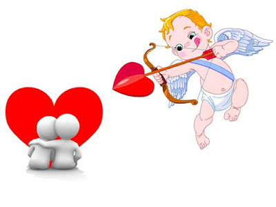 Cupid, the god of love