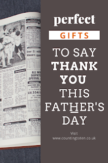 perfect gift ideas to say thank you this Father's Day
