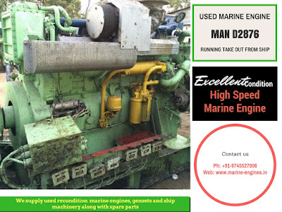 MAN high speed engine, V12, V10, 1000 HP, 450 HP, marine engine, boat engine, fishing, spare parts, MAN D2876