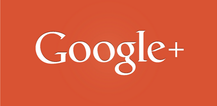 Google Plus gigantic logo