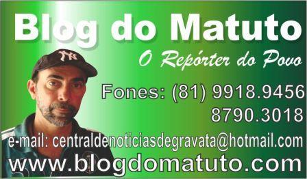 Diversos meios de Comunicação de Pernambuco já têm o Blog do Matuto e o  Jornal Achei Gravatá como referência. 43dea15472