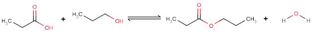 Reaksi esterifikasi asam karboksilat
