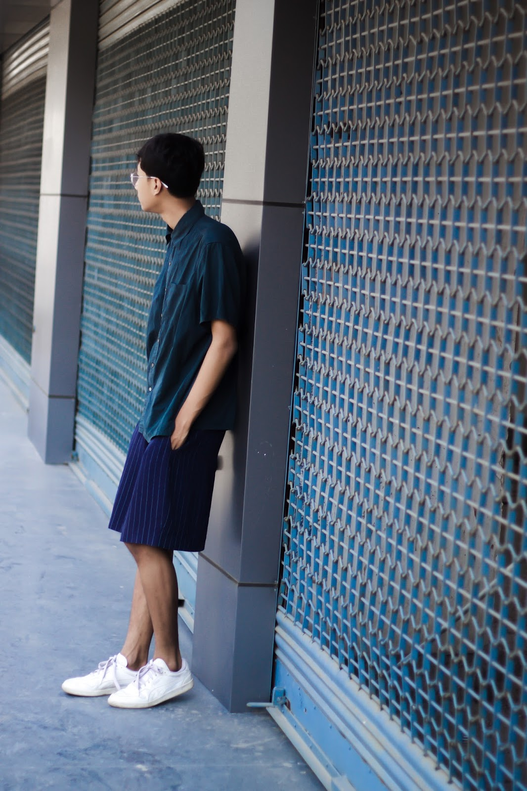 TheQuirkyMinimal by Kangkan Rabha Indian Menswear fashion blog Style tips on how to wear pyjamas in the daytime menswear