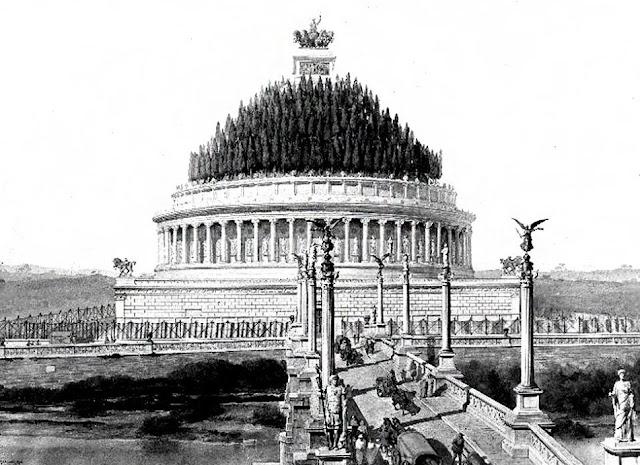 Resultado de imagen de mausoleo de adriano