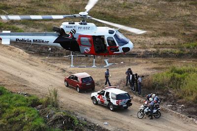 POLÍCIA MILITAR PRENDE CRIMINOSOS PELO CRIME DE ROUBO NA ZONA RURAL DE ELDORADO