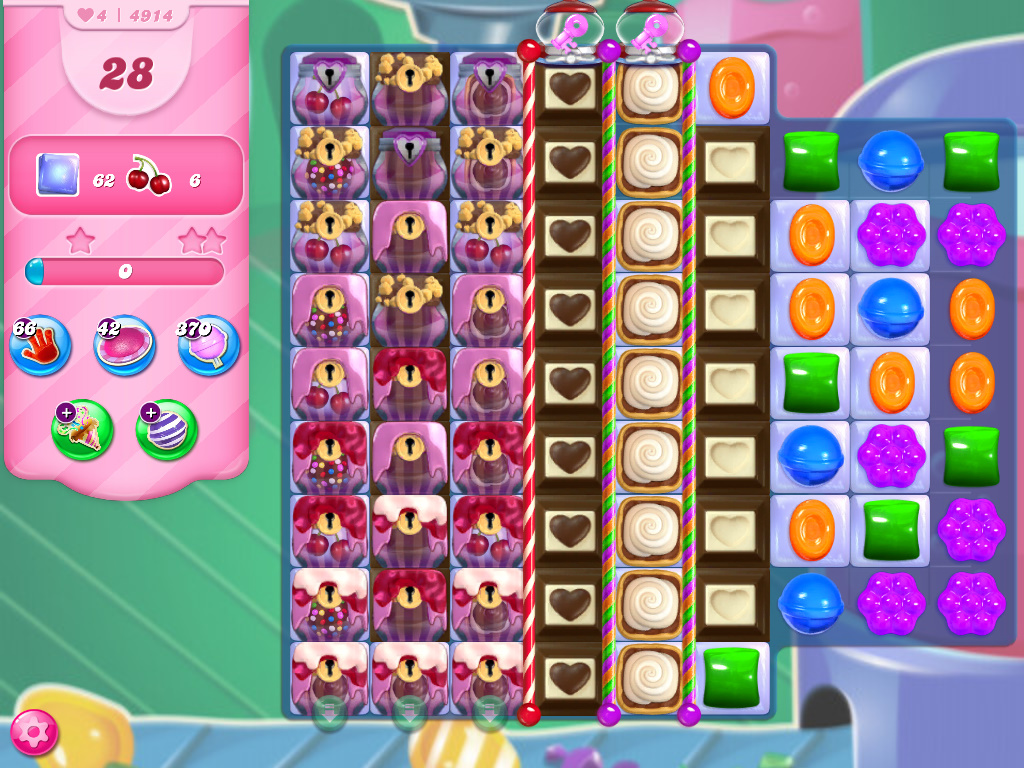 Candy Crush Saga level 4914