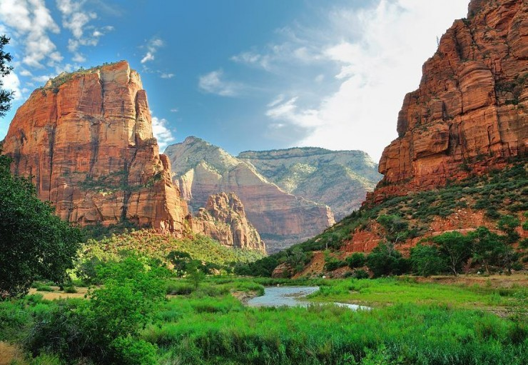 Top 10 Natural Wonders in North America - Zion National Park, USA