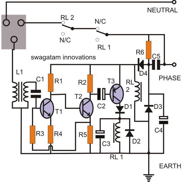 earth leakage circuit breaker diagram pdf
