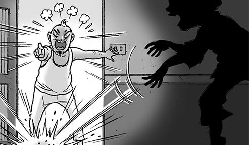 Silent Horror chap 36: Tiếng động nửa đêm