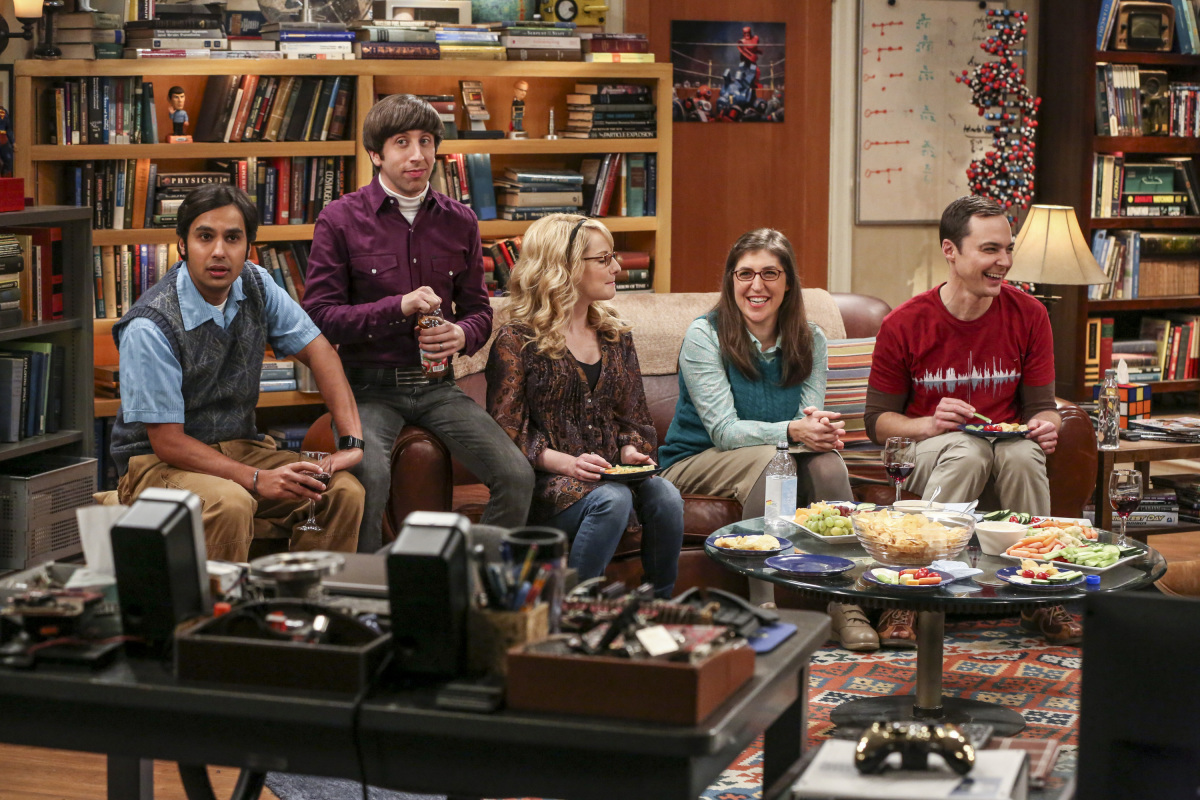 The Big Bang Theory 10x12 The Holiday Summation