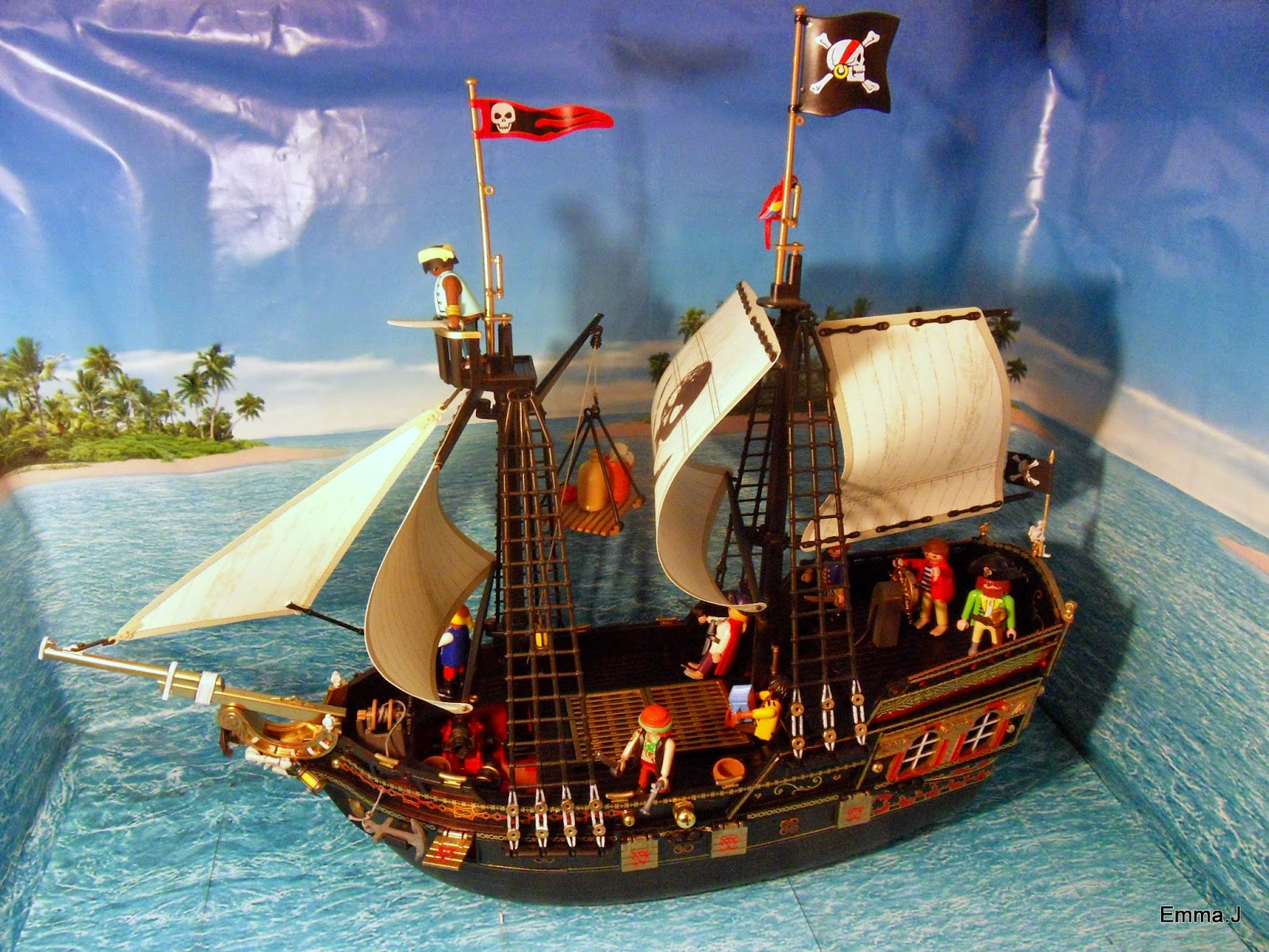 retribution pirate ship emma j 39 s playmobil. Black Bedroom Furniture Sets. Home Design Ideas
