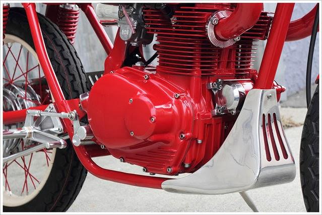 Gambar Modifikasi Motor Bergaya Retro Klasik Terbaik 2016 - Honda CB350