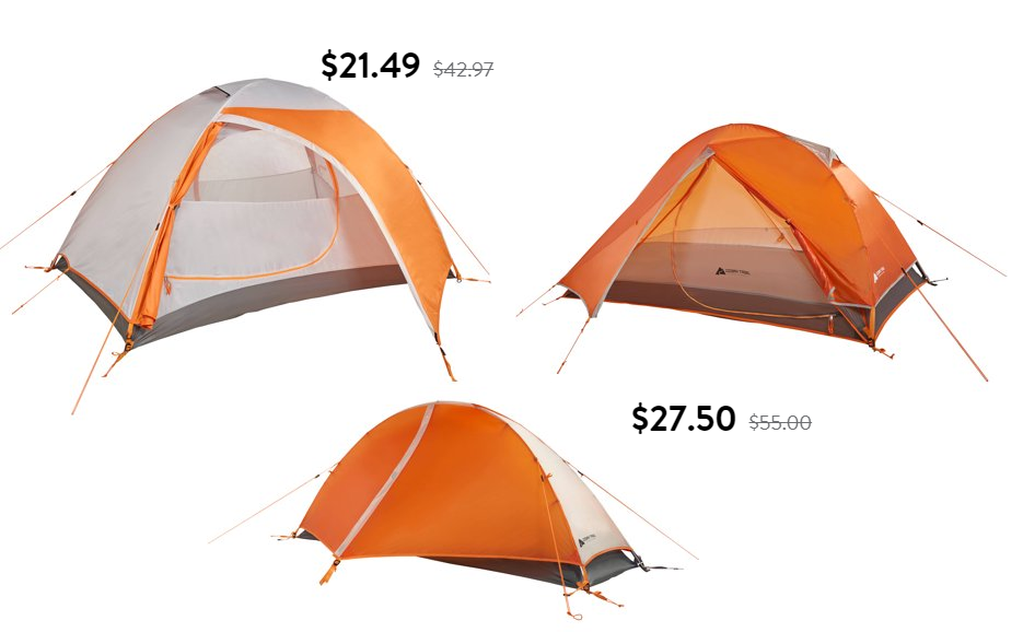 Ozark Trail Tents Sale: Ozark Trail 2 Person Backpacking