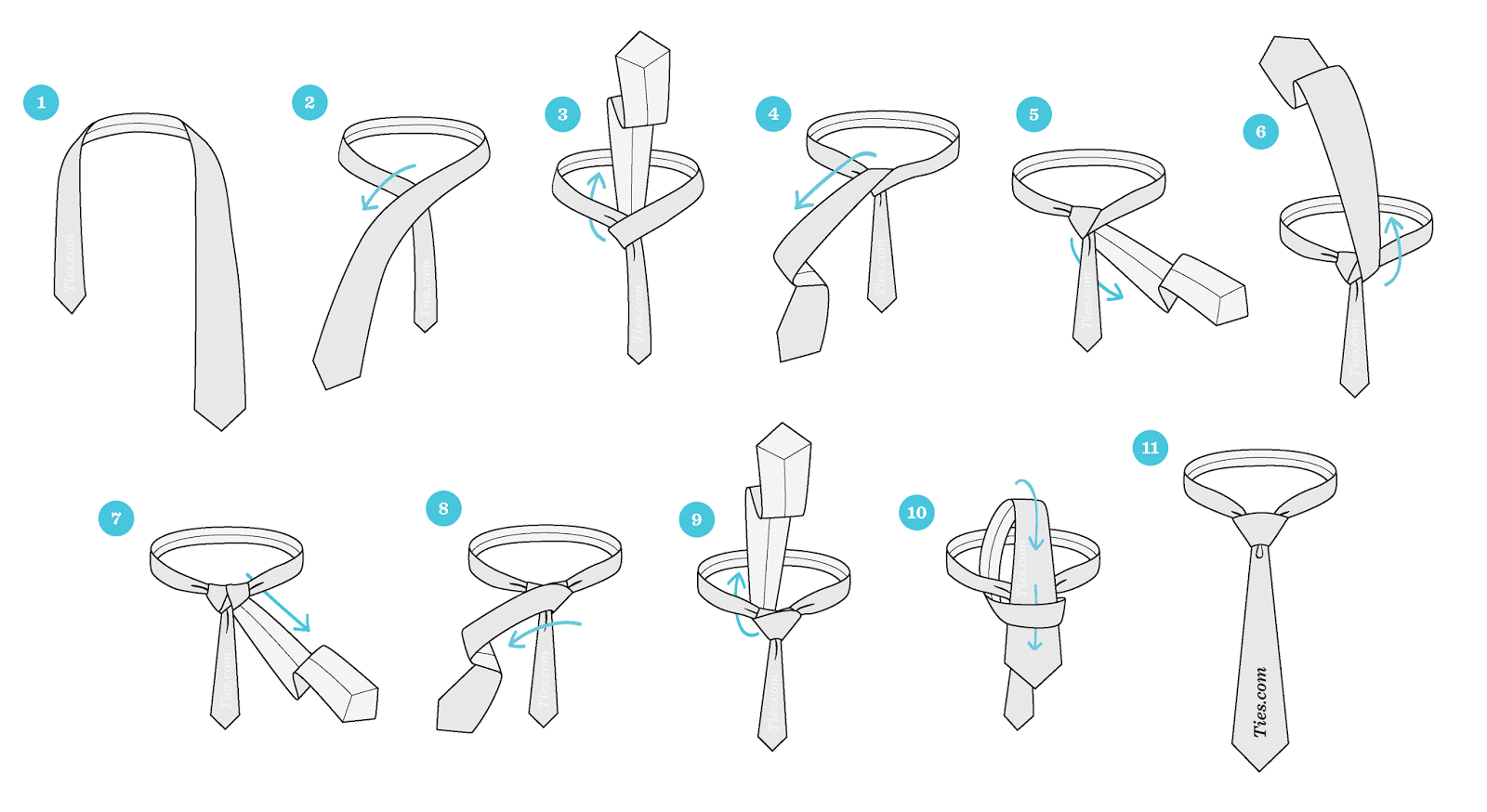 How To Tie A Tie How To Tie A Tie ~ General Subjects Instructions