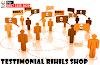 Testimonial Rihils Shop