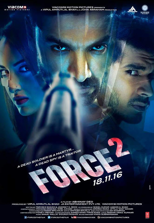 Force 2 Movie Review : John Abraham & Sonakshi Sinha are impressive, Tahir Raj Bhasin is amazing, the action won't disappoint ! - Bollywood Fever