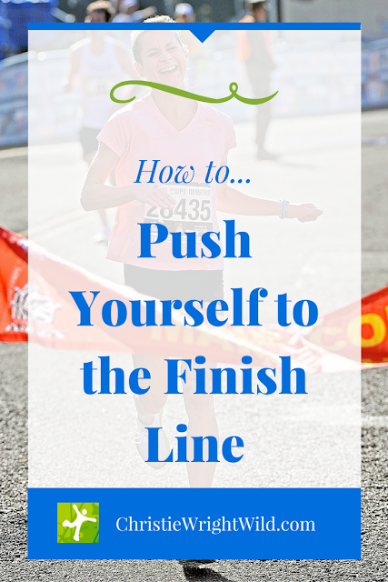 how to finish a race | how to finish a novel | story craft | running tips | writing tips