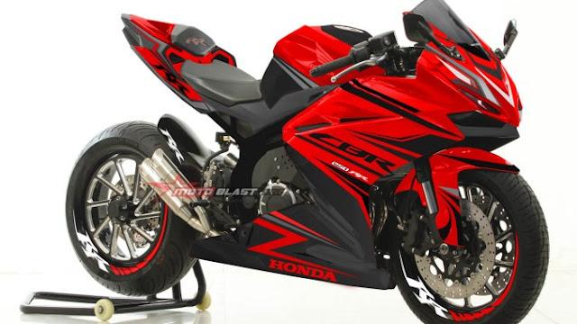 Honda CBR250RR Red Black