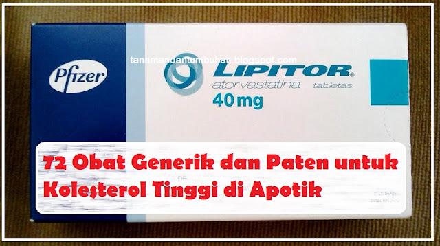 Nama Obat Penurun Kolesterol Tinggi di Apotik