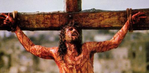 Momento de La pasión de Cristo