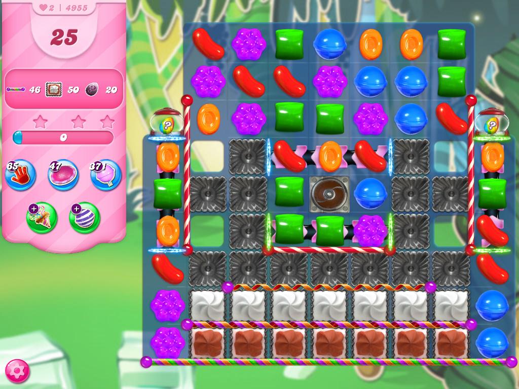 Candy Crush Saga level 4955