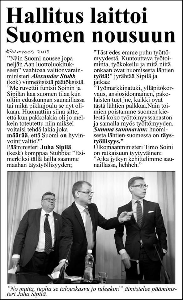 köyhä suomessa 2015