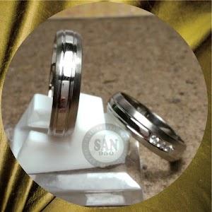 cincin emasputih perak p5634