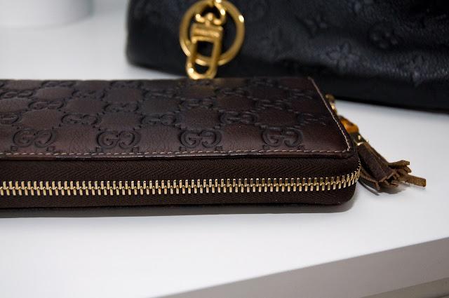 zamek od portfela, oryginalny Gucci