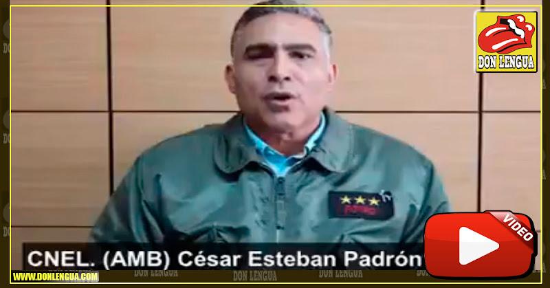Coronel activo de la Aviación reconoció a Guaidó como Presidente