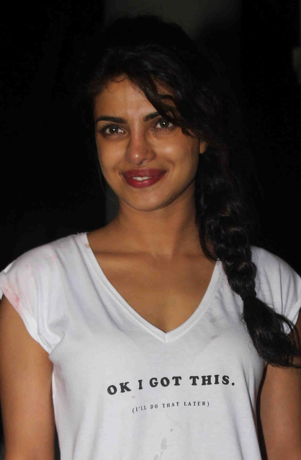 Priyanka Chopra Without MakeUp Face Photos