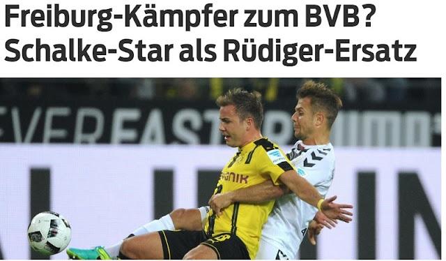 Amir Abrashi to Borussia Dortmund?