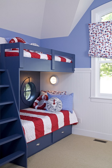 10 shared children's bedrooms with lots of color 7
