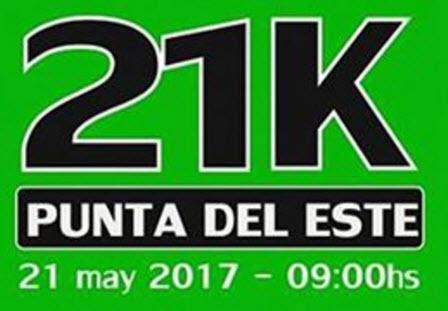 21k y 8k Media maratón de Punta del Este (Maldonado - Uruguay, 21/may/2017)