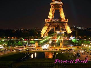 巴黎鐵塔夜景