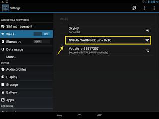 Cara Mudah Mengatasi NVRAM WARNING Err 0x10 Android