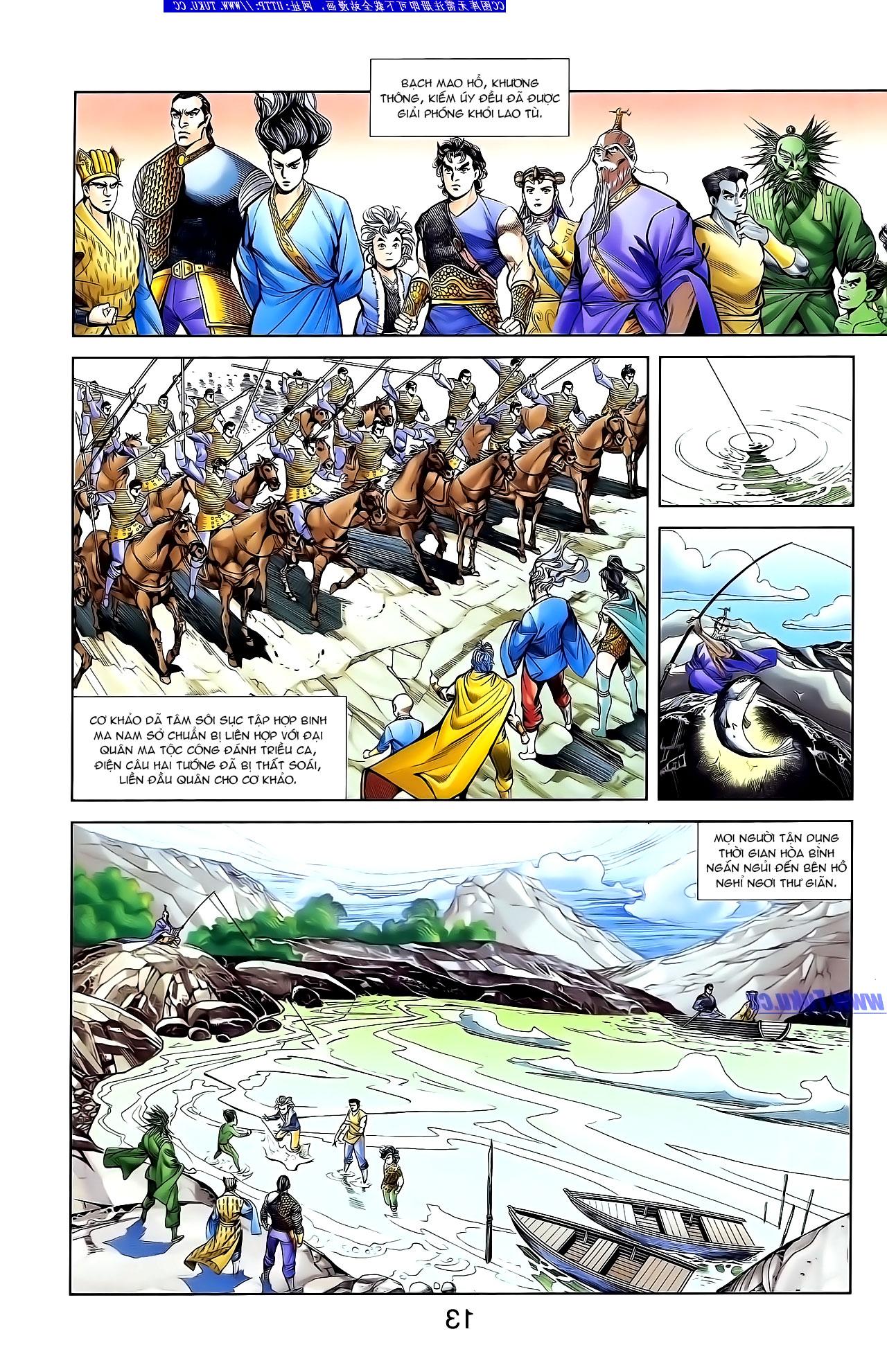 Cơ Phát Khai Chu Bản chapter 132 trang 24