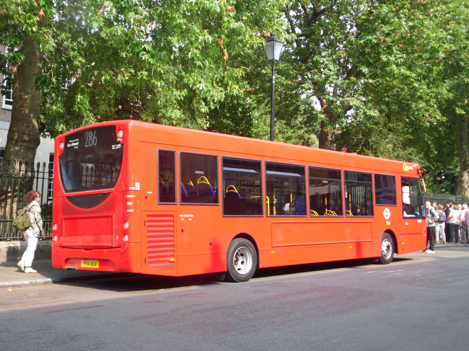 Tom London Amp Surrey Bus Blog Route 286 Observations