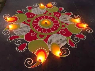 Happy Diwali 2018 Rangoli Images