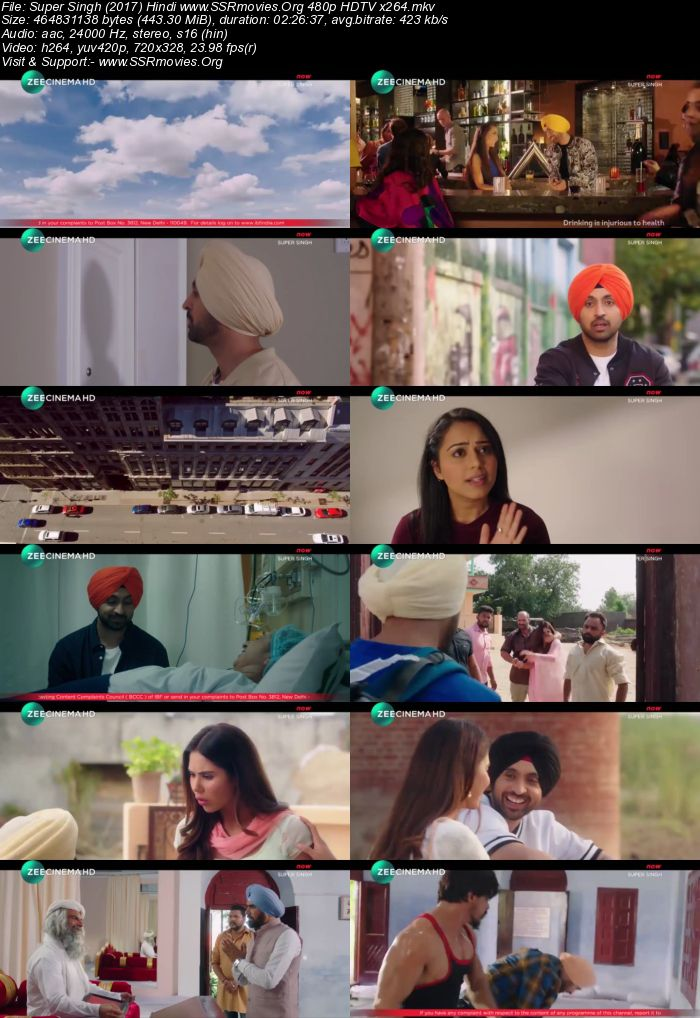Super Singh (2017) Hindi 480p HDTV
