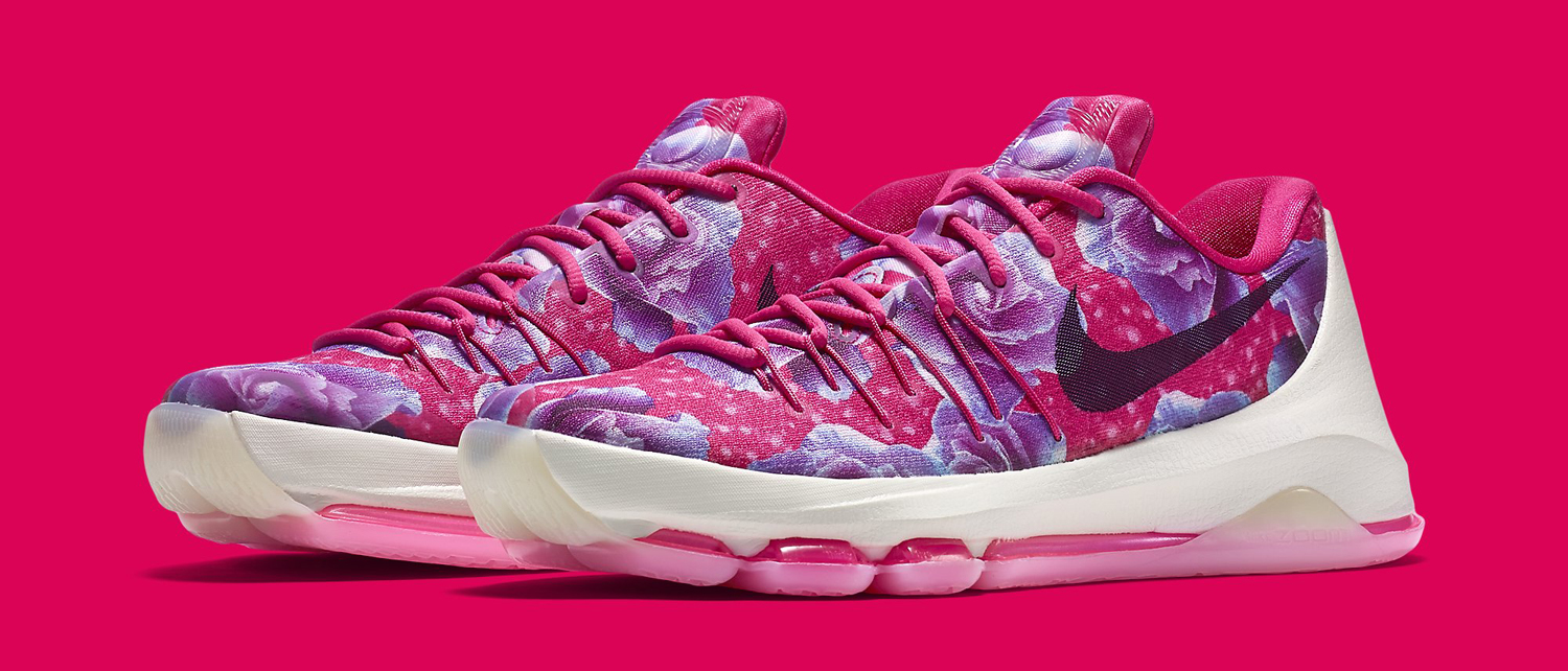 9cdd81447bc2eb ... new year deals kd 8 aunt pearl vivid pink black phantom 6613c 6e73a  best price nike kd 8 aunt pearl pink floral 17faa dcf43 shop nike kd 8 aunt  pearl ...