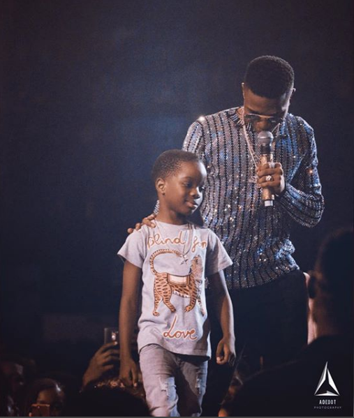 Wizkid's Ist baby mama gushes over photo of him and their son