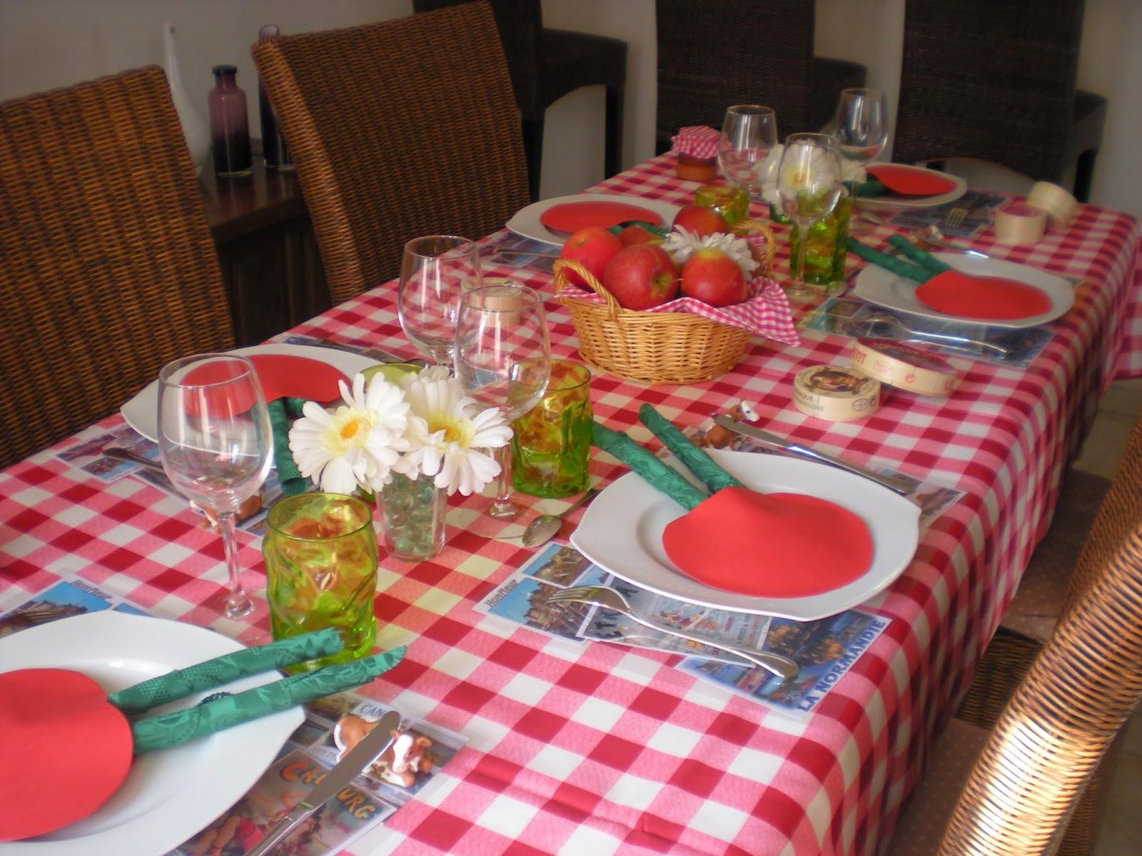 Deco De Table A Themes Deco Aux Parfums De La Normandie