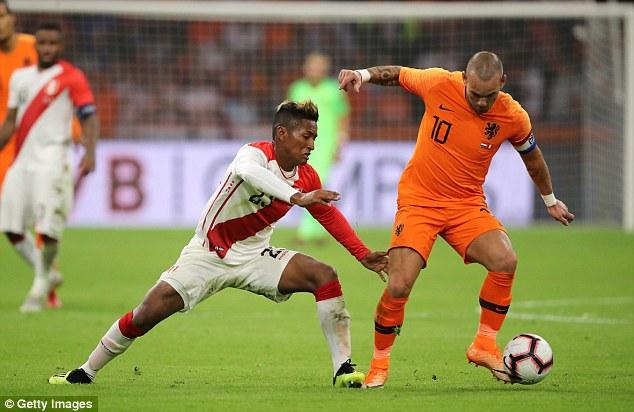 Cuplikan Skor Pertandingan Belanda vs Peru: Skor 2-1