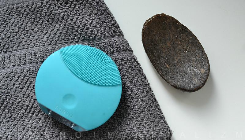 Foreo luna mini, soneczna szczoteczka do mycia twarzy