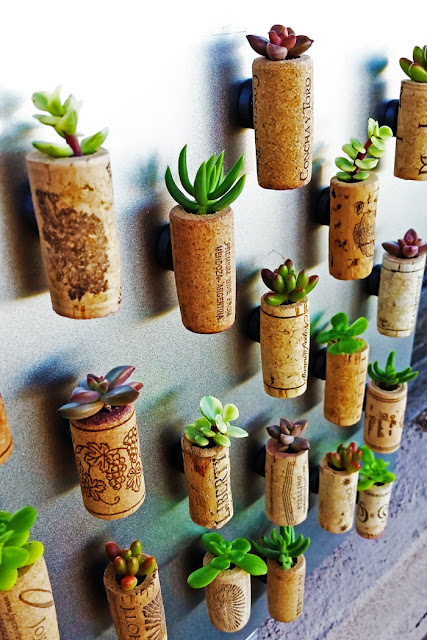 creative recycle craft from kitchen stuff